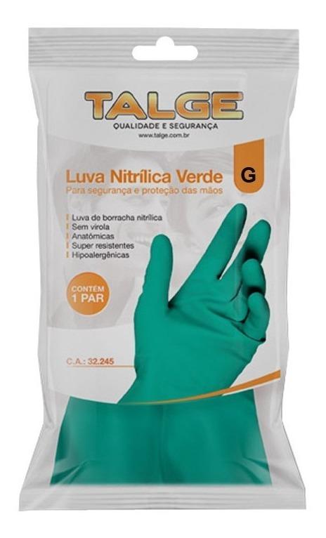 LUVA NITRÍLICA TALGE CA-32245