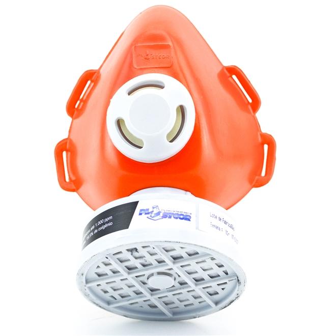RESPIRADOR PLASTCOR COM UM FILTRO VO - CA 39428